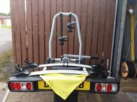 BIKE CARRIER TOW BALL MOUNTED FOR TWO BIKE'S