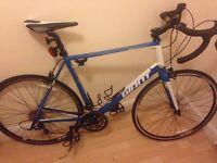 Men's road bike. Make: GIANT.