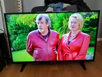 Great 43 TELEFUNKEN LED SMART TV full HD ready 1080p freeview inbuilt