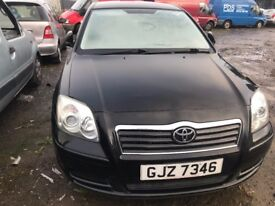 2004 TOYOTA AVENSIS 2.0 DIESEL BREAKING FOR PARTS ONLY POSTAGE AVAILABLE NATIONWIDE
