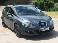 2008 SEAT LEON 2.0 TDI AUTOMATIC DSG STYLANCE LOW MILES FSH BLACK WHEELS GOLF ASTRA 118d 120d