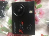 Campark 4K camera and accessories