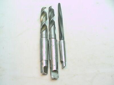 1 18 Inch Drill And 1 116 Inch Drill And 34 Inch Core Drill Set Of 3 Bits Mo