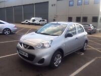 2014 NISSAN MICRA Facelift Model in Metallic SILVER CAT D 4500 Genuine Miles EXCELLENT CONDITION