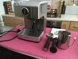 Andrew James Espresso Machine with Milk Frother