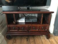 Solid wood cabinet/TV stand