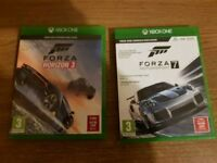 Forza Horizon 3 and Forza 7 Xbox One