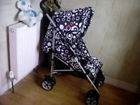 BUGGY + RAINCOVER **FREE DELIVERY WITHIN HULL**
