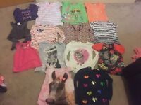 Large clothes bundle for girls age 3-4 & 4-5yrs Over 90 items