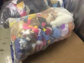 Second hand Kids Children's soft toys 1 bag