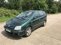 NISSAN ALMERA TINO 2006 8 MONTHS MOT LEATHER INTERIOR
