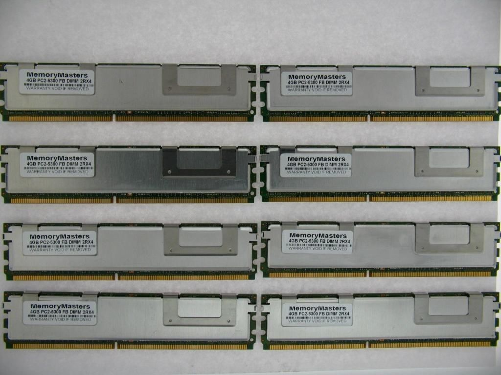 2x2GB DDR2-667 Fully Buffered Kit for the Compaq HP Proliant ...
