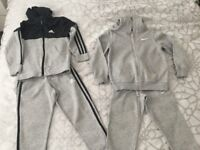 Boys tracksuits both 5/6 years in good condition