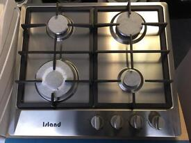 Cast Iron Stainless Steel Gas Hob