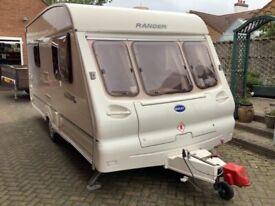 Touring Caravan 2 Berth Bailey Ranger 450/2 2001