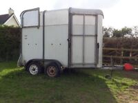 Ifor williams horse trailer
