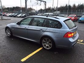 2009 BMW 318D M SPORT TOURING AUTO, ONLY 79,000 miles WITH FSH