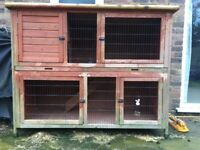Rabbit or Guinea Pig 2 Storey Hutch