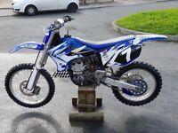 Yamaha yzf 250, not rm cr kx ktm