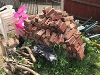 Used Bricks and wood