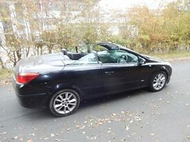 Vauxhall Astra 1.8 i Design Twin Top 2dr new clutch fitted 2008 (08 reg), Convertible