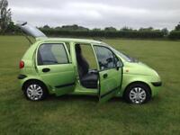 Daewoo matiz 2004 1.0 petrol 73k first cheap car