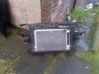 audi a3 front panel and rad pak 07 plate