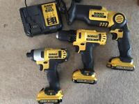 Dewalt 10.8v set