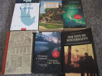 6 books in German