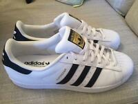 BRAND NEW Adidas Superstar Shoes - White/Black