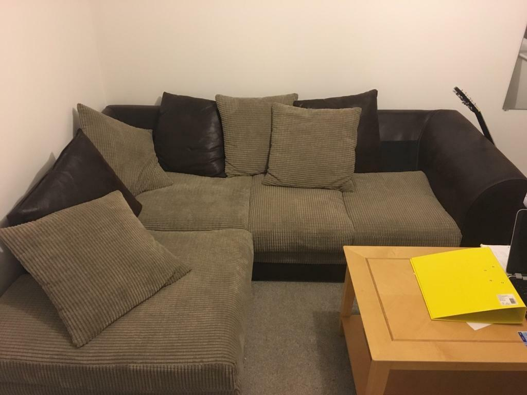 Left hand side corner sofa £200