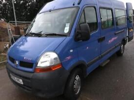 Renault master Mwb wheelchair vehicle 55 Reg 79k miles service history mot March