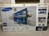 "SAMSUNG 40"" FULL HD 1080P 3D LED TV FREEVIEW/400HZ/ULTRA SLIM"