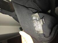 Topshop black shorts- size 8