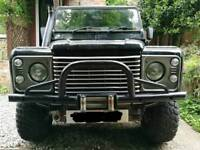 Defender Winch Bumper