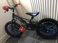 Boys bike transformer