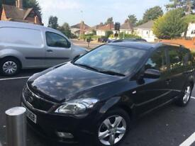 Kia Ceed2 CRDI 1.6 60 (2010) plate black estate