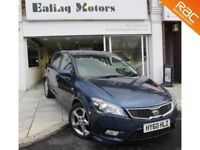 2010 KIA CEED 3,AUTOMATIC,5DOOR HATCHBACK,FULL HISTORY,CRUISE CONTROL,FINANCE AVAILABLE,BLUETOOTH
