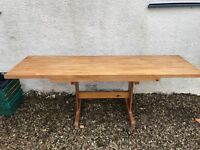 Dining table. Cherry wood.