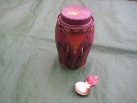 Williamson Tea Elephant Caddy and Harrods Tea Caddy Spoon for £6.00