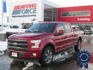 2017 Ford F-150 Lariat SuperCrew 4X4 w/6.5' Box, 5.0L V8 Gas