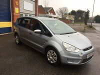 2008 Ford smax 1.8 tdci Zetec 7 seater 12 months mot/3 months parts and labour warranty