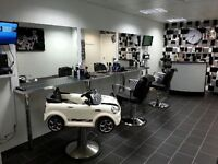 Kids car style barber seat