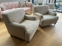 MADE ORSON ARMCHAIRS (PAIR)