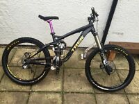 Trek scratch air 9 full suspension 2013 Mountain bike for sale