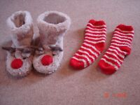 Girls Slippers & Socks
