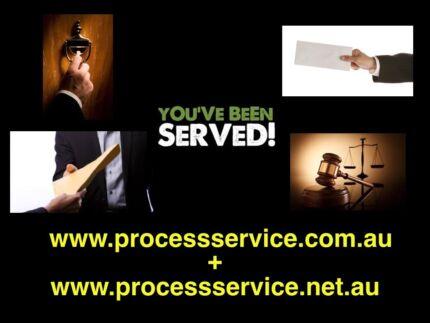 Domain Names www.processservice.com.au + .net.au Process Service