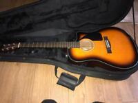 Fender electro-coustic guitar