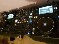 Pioneer XDJ 1000mk2 - DJM900 nexus 2 - nxs2