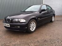 2001 BMW 3 SERIES 1.8 PETROL not audi a3 a4 golf 318 320 merc corsa punto micra polo
